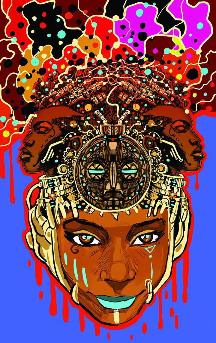 AfroFuturism - Columbus by John Ira Jennings