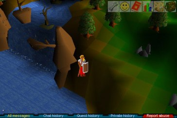 Screenshot from RunEscape Classic // Photo by Jagex