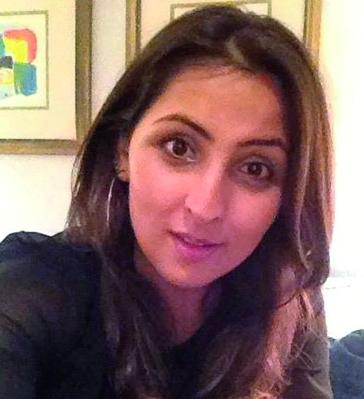 Samira Sawlani often receives abuse on Twitter